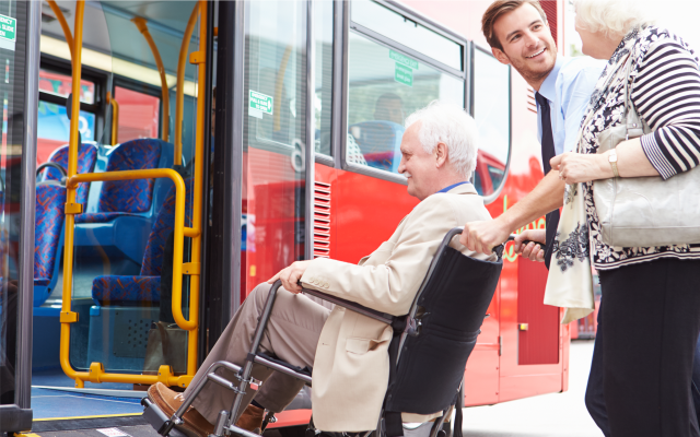 Transport Frail Aged and Those with Disability